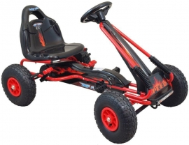 Kart cu pedale Speed Fever Red