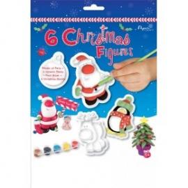 Kids Create - Set creativ - 6 figurine de iarna