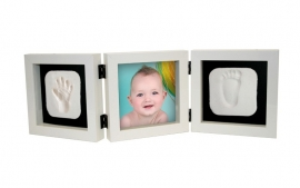 Kit amprenta 'My First Hand and Foot Impression Square', Kidzzcast
