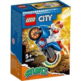 LEGO® CITY MOTOCICLETA DE CASCADORIE-RACHETA 60298
