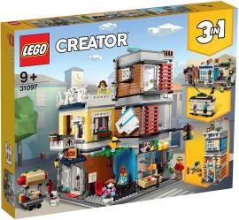 LEGO® CREATOR  MAGAZIN DE ANIMALE SI CAFENEA DE ORAS 31097
