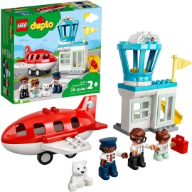 LEGO® DUPLO AVION SI AEROPORT