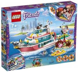LEGO® FRIENDS BARCĂ PENTRU MISIUNI DE SALVARE 41381