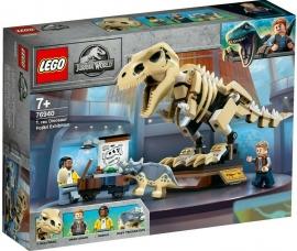LEGO® JURASSIC WORLD EXPOZITIA FOSILEI DINOZAURULUI T REX
