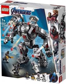 LEGO® SUPER HEROES SPĂRGĂTOR DE MAȘINI DE RĂZBOI 76124