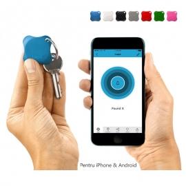 Localizator Bluetooth  Lapa, dispozitiv anti-pierdere si localizare rapida - Culoare - Bleu