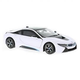 Masinuta BMW I8 Hybrid 2015, Scara 1:43 Alb
