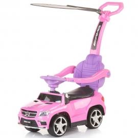 Masinuta de impins Chipolino Mercedes Benz GL63 AMG pink cu copertina
