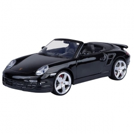 Minimodel Motormax 1:18 Porsche 911 Turbo Cabriolet