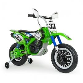 Motocicleta electrica Thunder Max Kawasaki 12V - Injusa