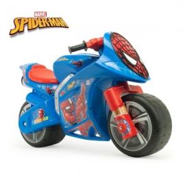 Motocicleta fara pedale Winner Spiderman - Injusa