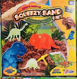 Nisip kinetic - Lumea dinozaurilor