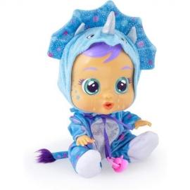 Papusa Cry Babies, Bebe Plangacios Dinozaurul Tina