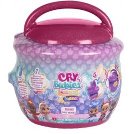 Papusa in Cutiuta Cry Babies Magic Tears Seria Paci House Visiniu
