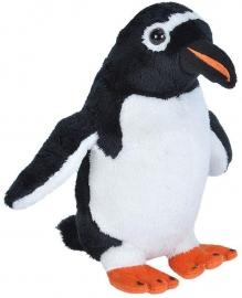 Pinguin Gentoo - Jucarie Plus Wild Republic 20 cm