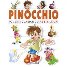 Pinochio - Povesti clasice cu abtibilduri
