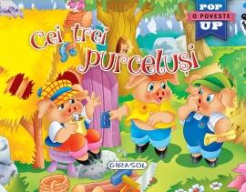 Pop-up - Cei trei purcelusi