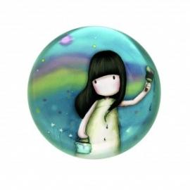 Prespapier Gorjuss Rainbow dreams ambalat in cutie de cadou