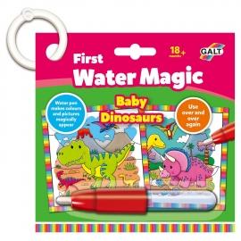 Prima mea carticica Water Magic - Micutii dinozauri