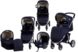 Carucior M21 sistem 3 in 1 - Carello NAVY
