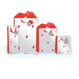 Punga de iarna / Craciun - Reni & Merry Christmas XL