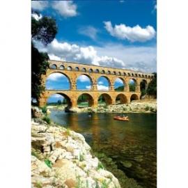 Puzzle 1000 piese Pond du Gard