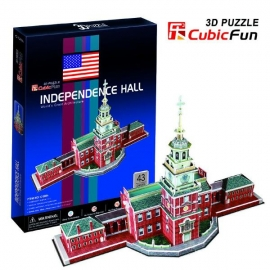 Puzzle 3D - Independence Hall