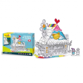 Puzzle 3D - Toy House - 18 piese