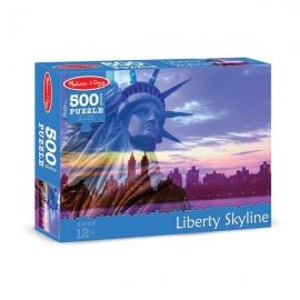 Puzzle 500 piese Statuia Libertatii