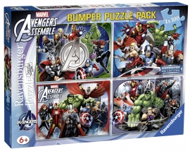 Puzzle Avengers, 4X100 Piese