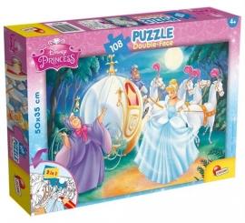 Puzzle de colorat - Cenusareasa (108 piese)