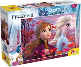 Puzzle de colorat - Frozen II (35 piese)