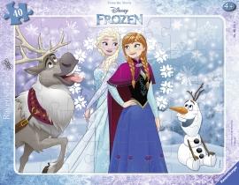 Puzzle Frozen, 38 Piese