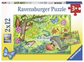 Puzzle Gradina, 2X12 Piese