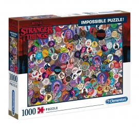 PUZZLE IMPOSSIBLE STRANGER THINGS 1000 DE PIESE CLEMENTONI