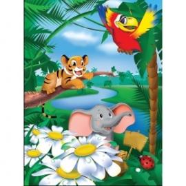 Puzzle pentru copii 60 piese Veselie