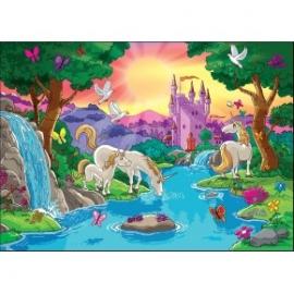 Puzzle pentru copii 99 piese Paradisul unicornilor