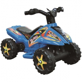 QUAD copii cu pedala acceleratie - albastru