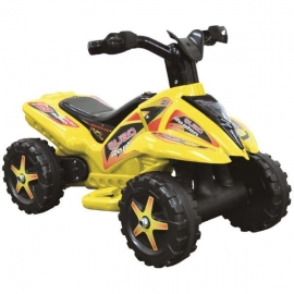QUAD copii cu pedala acceleratie - galben