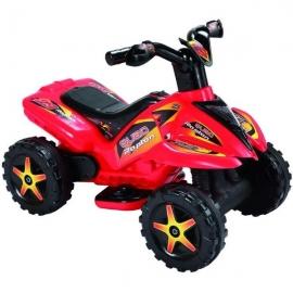 QUAD copii cu pedala acceleratie - rosu