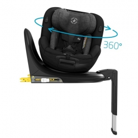 Scaun auto i-Size Maxi Cosi Mica AUTHENTIC BLACK