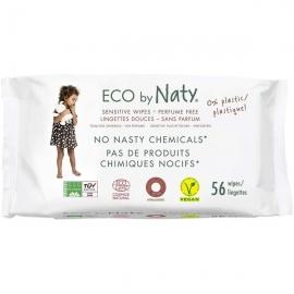 Servetele umede fara parfum 56buc, ECO by Naty
