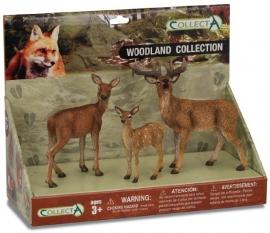 Set 3 figurine Animale din padure - Collecta