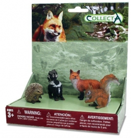 Set 4 buc Animale din padure - Collecta
