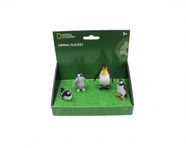 Set 4 figurine cu pinguini