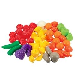 Set 50 Legume si Fructe in Cutie