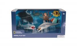 Set 7 figurine - Animalute marine