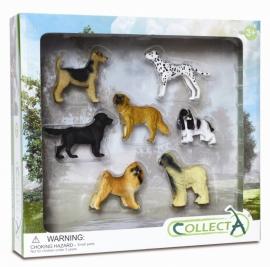 Set 7 figurine Caini - Collecta