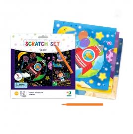 Set creativ de razuit - Spatiul cosmic