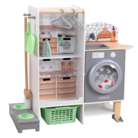 Set de joaca 2 in 1 Kitchen & Laundry - KidKraft